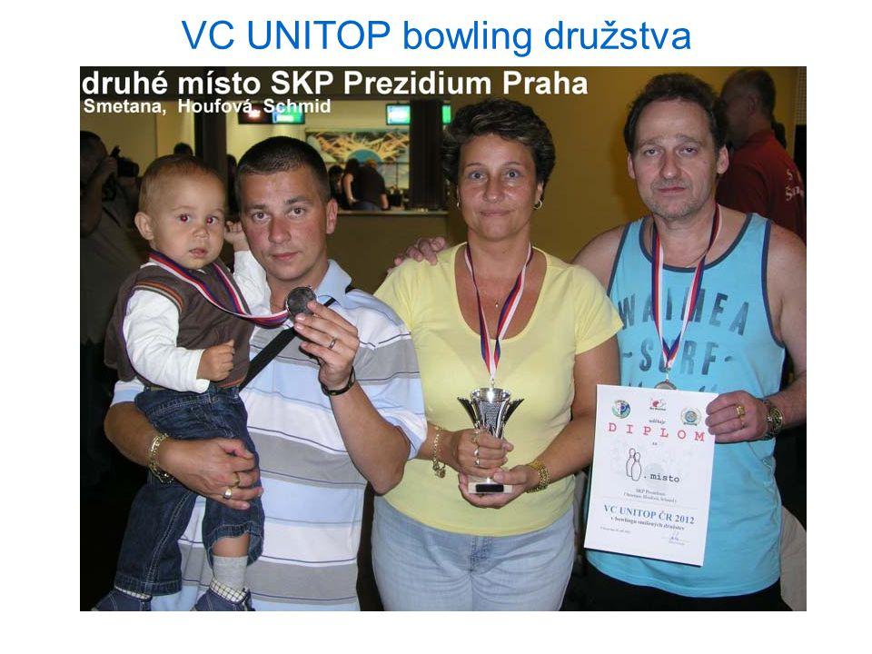 VC UNITOP bowling družstva 25.9.2012 Praha