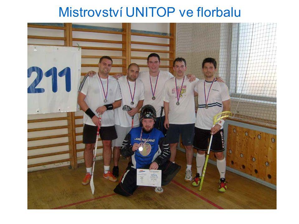 Mistrovství UNITOP ve florbalu 3.11.2012 Praha