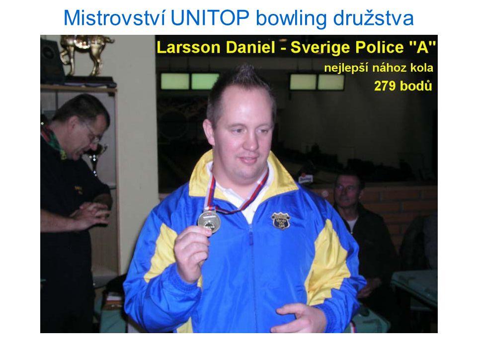 Mistrovství UNITOP bowling družstva 16.11.2012 Praha