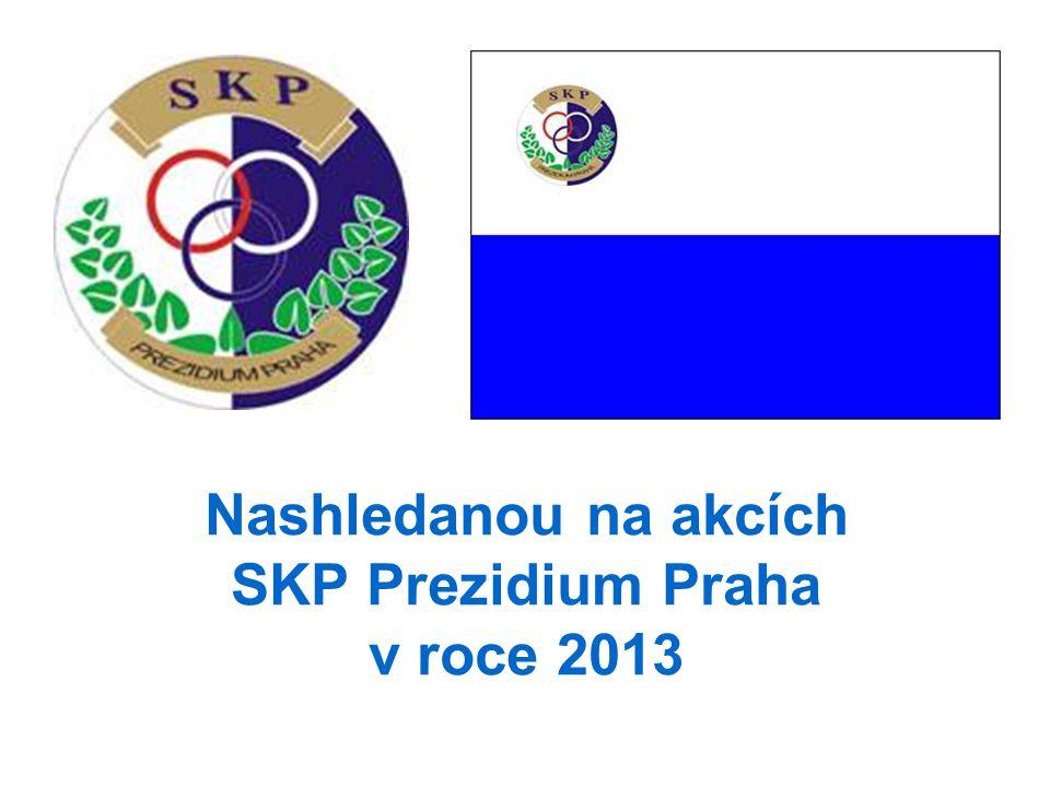 Nashledanou na akcích SKP Prezidium Praha v roce 2013