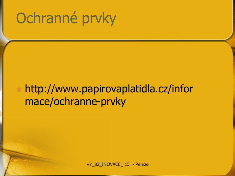 Osobnosti na bankovkách 100 – Karel IV 200 – Jan Amos Komenský 500 – Božena Němcová 1000 – František Palacký 2000 – Ema Destinnová 5000 – T.G.
