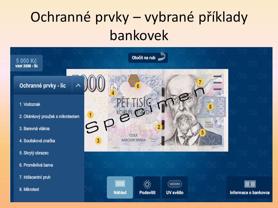 IBAN – mezinárodní číslo účtu - IBAN (International Bank Account Number) je formát čísla účtu definovaný mezinárodní normou Standard stanovuje mezinárodní formát čísla účtu: – 2 znaky - kód země (CZ pro Českou republiku) – 2 znaky - kontrolní číslice - umožňuje programovou kontrolu čísla - ochrana proti chybně zadanému číslu účtu – max.