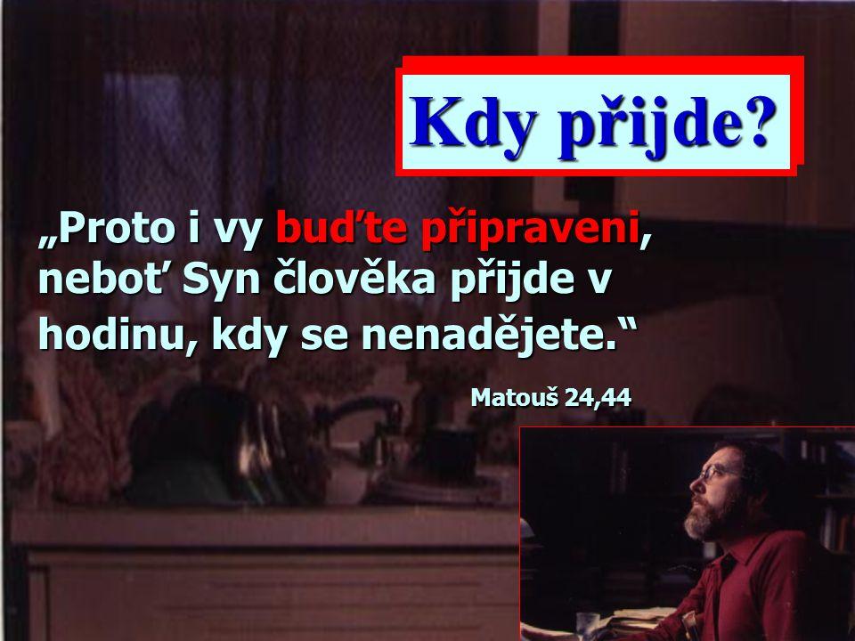 """""""Hle, přijdu brzo, a má odplata se mnou; odplatím každému podle toho, jak jednal."""" Zjevení 22,12"""