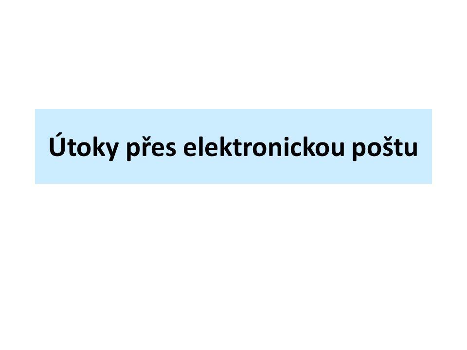 Útoky přes elektronickou poštu