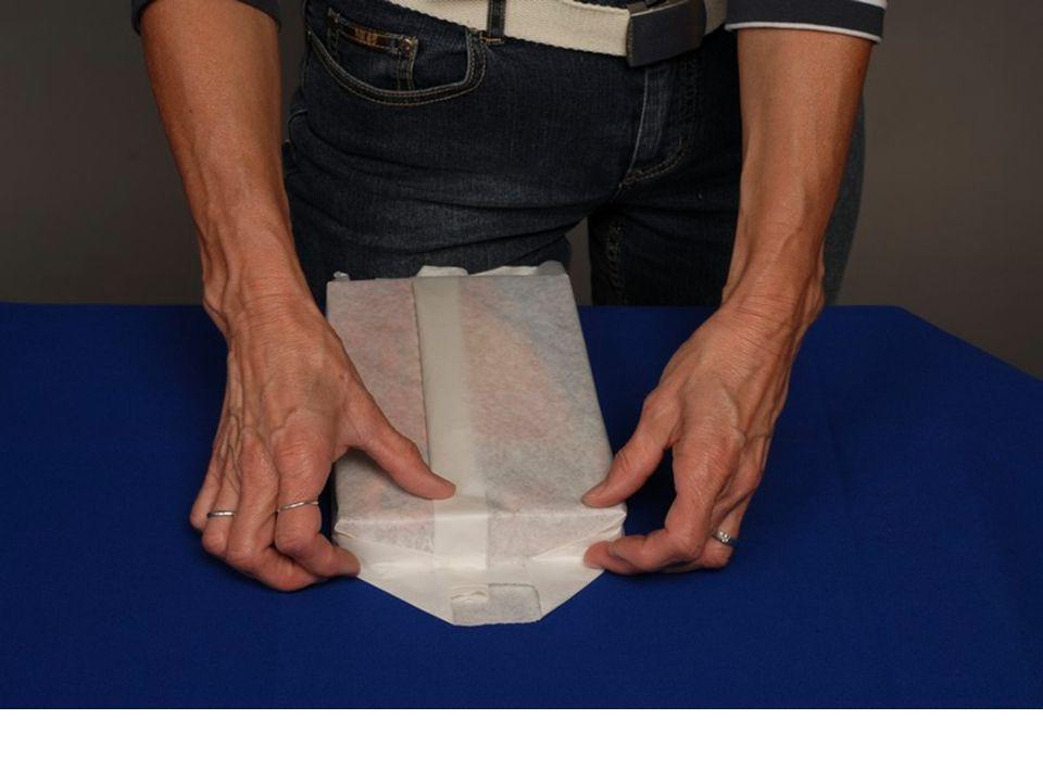 9.Na bočních stěnách vytvoříme trojúhelníkový překlad