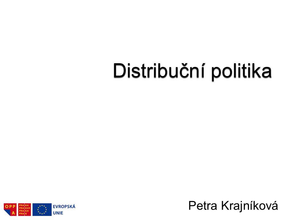 Distribuce jako součást marketingového mixu.–Definice distribuce.