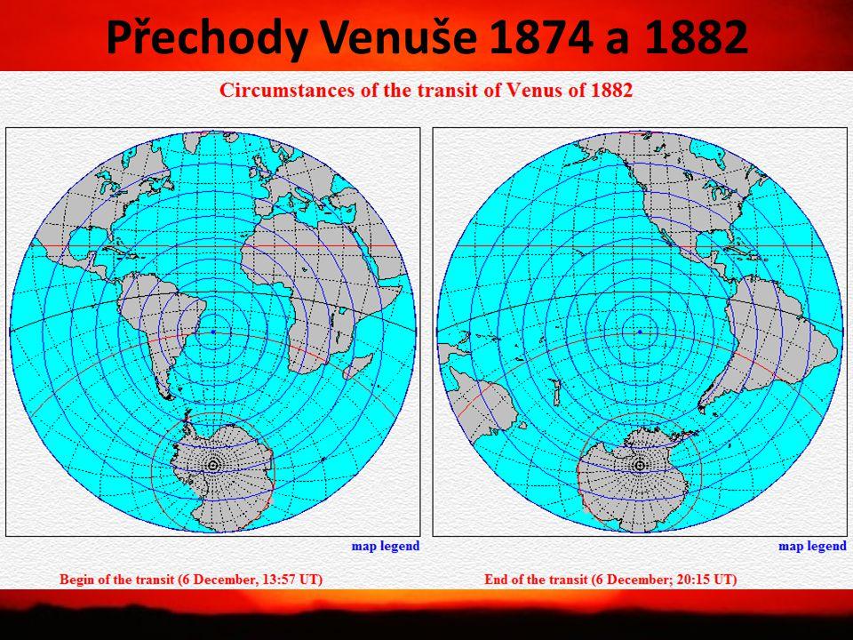 Přechody Venuše 1874 a 1882