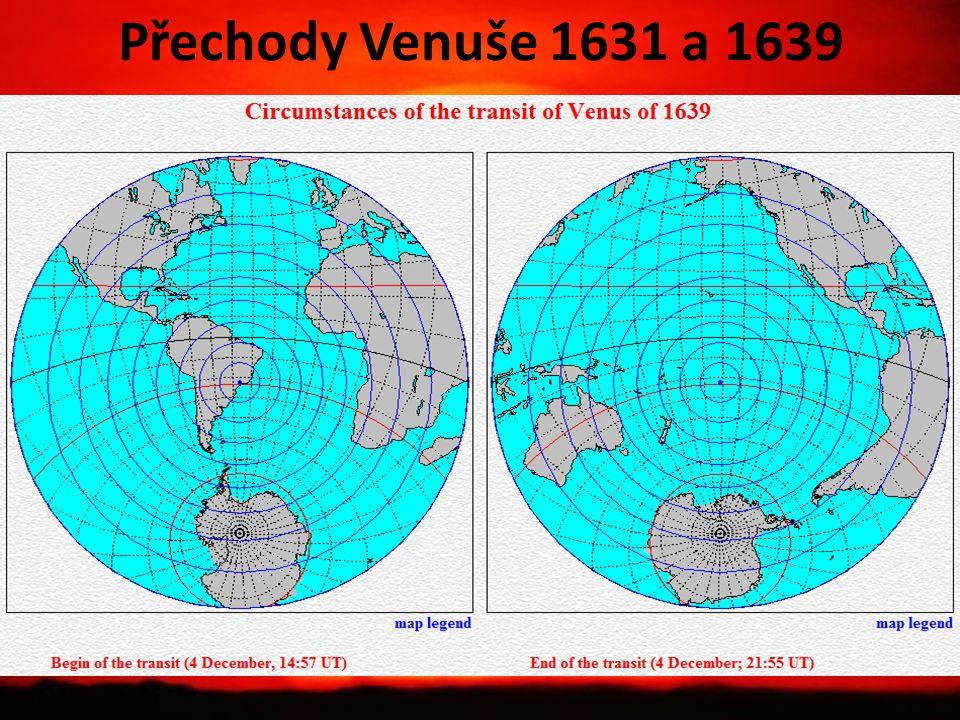 Přechody Venuše 1631 a 1639
