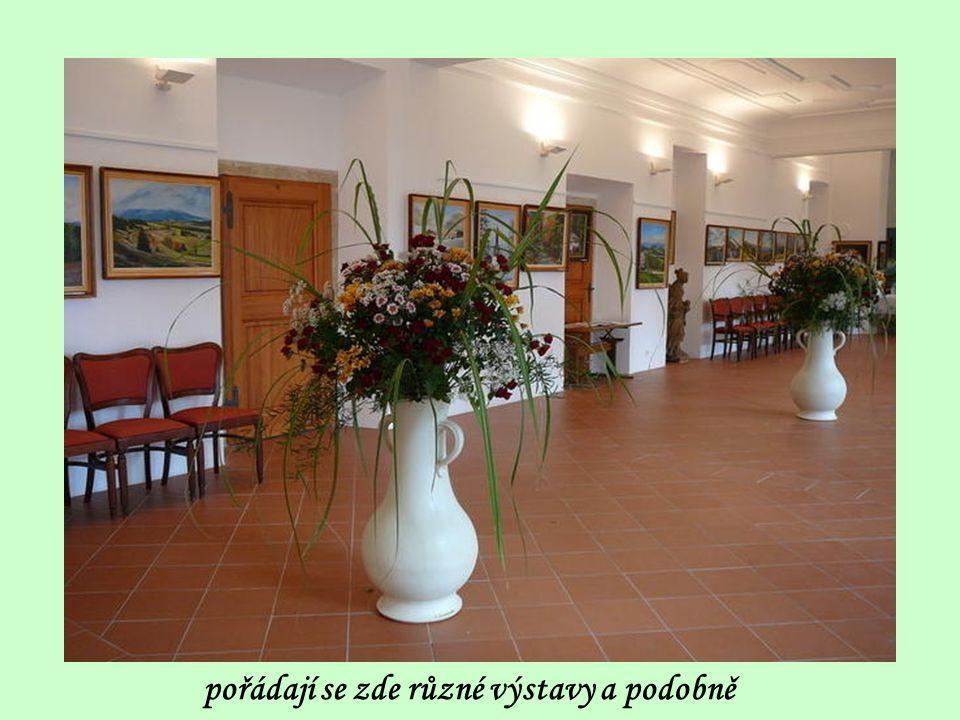 Interiér klášterních prostor