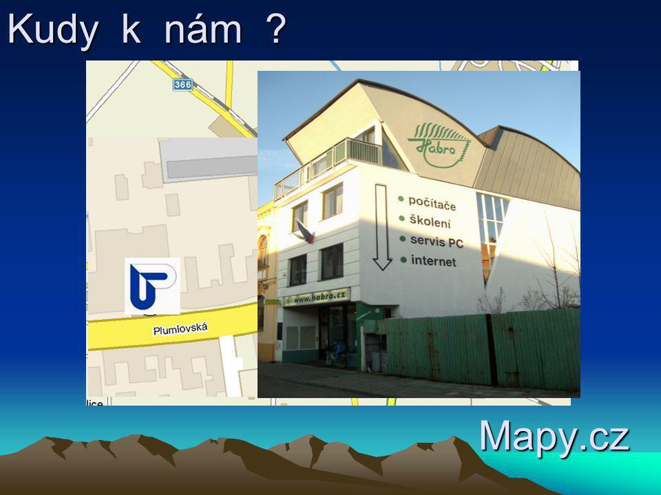 Kudy k nám Mapy.cz