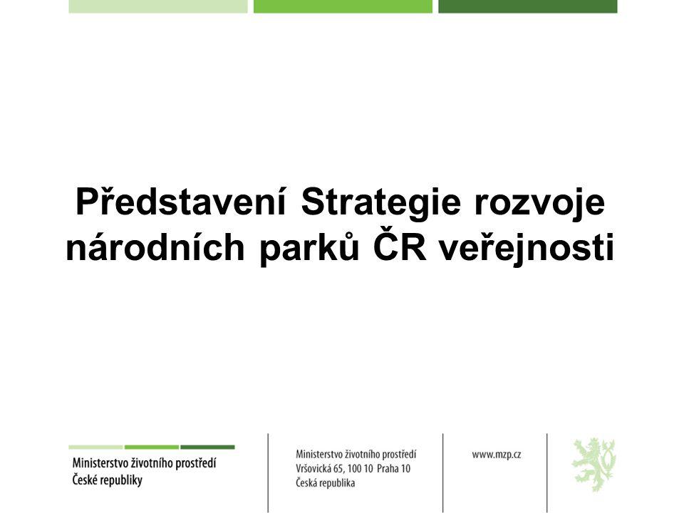 Představení Strategie rozvoje národních parků ČR veřejnosti