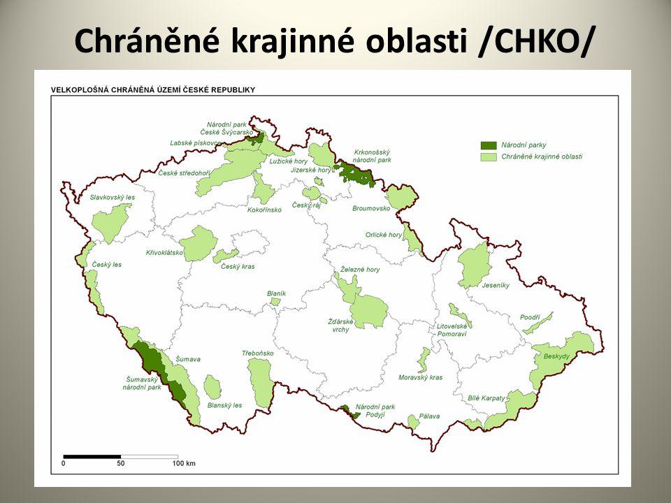 Chráněné krajinné oblasti /CHKO/