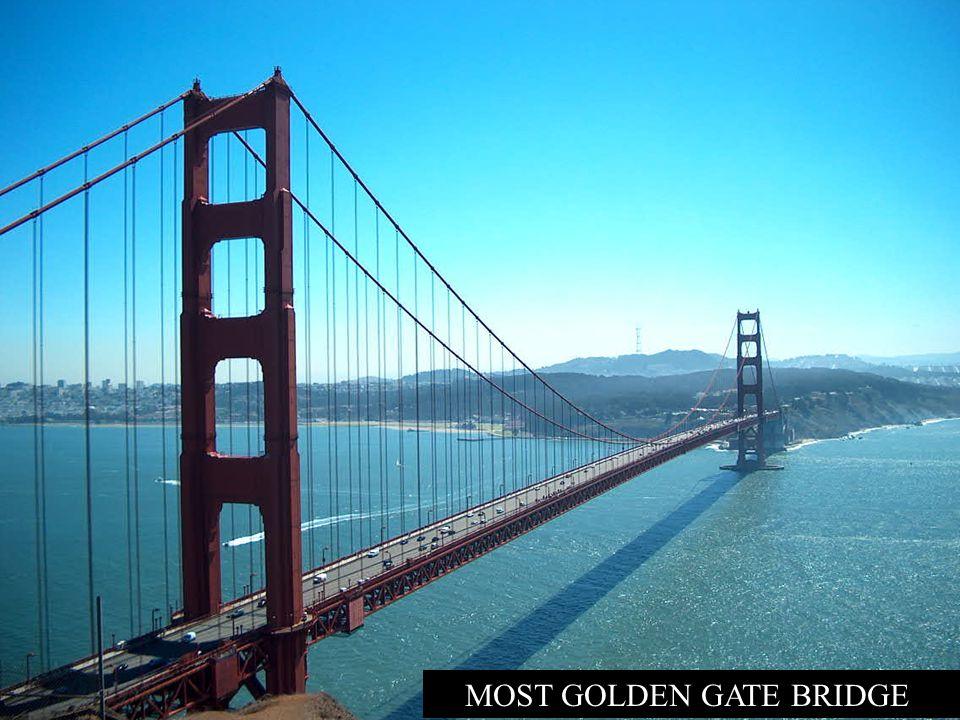 KALIFORNIE San Francisco, označované jako nejkrásnější město v Americe, pokrývá koncový výběžek poloostrova, s Pacifikem na západní straně a se zálive