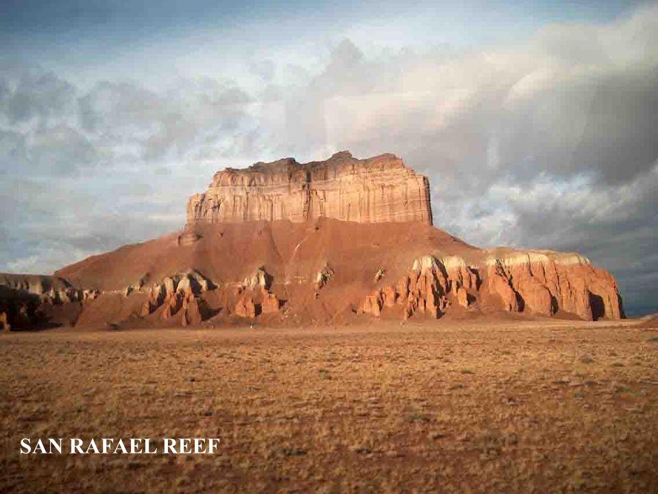 NÁRODNÍ PARK CAPITOL REEF - Utah Park chrání mohutnou vrásu v zemské kůře zvanou Waterpocket Fold, táhnoucí se v délce 160 km mezi centrálním a jižním