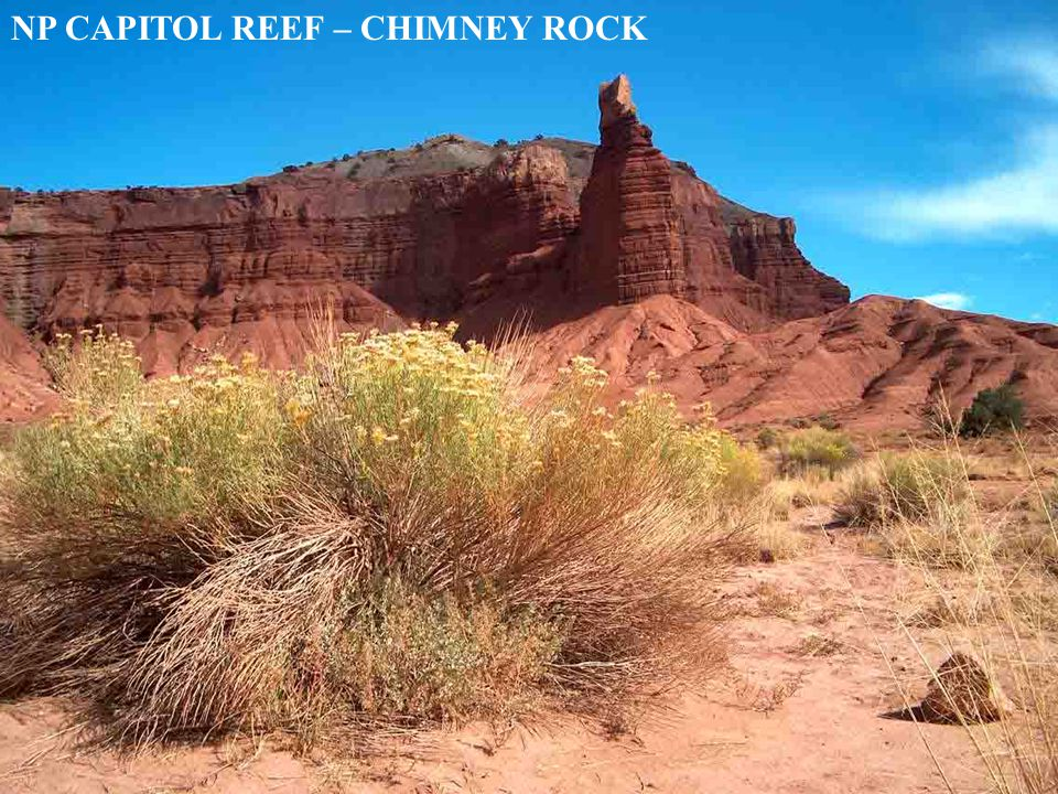 NP CAPITOL REEF – CHIMNEY ROCK