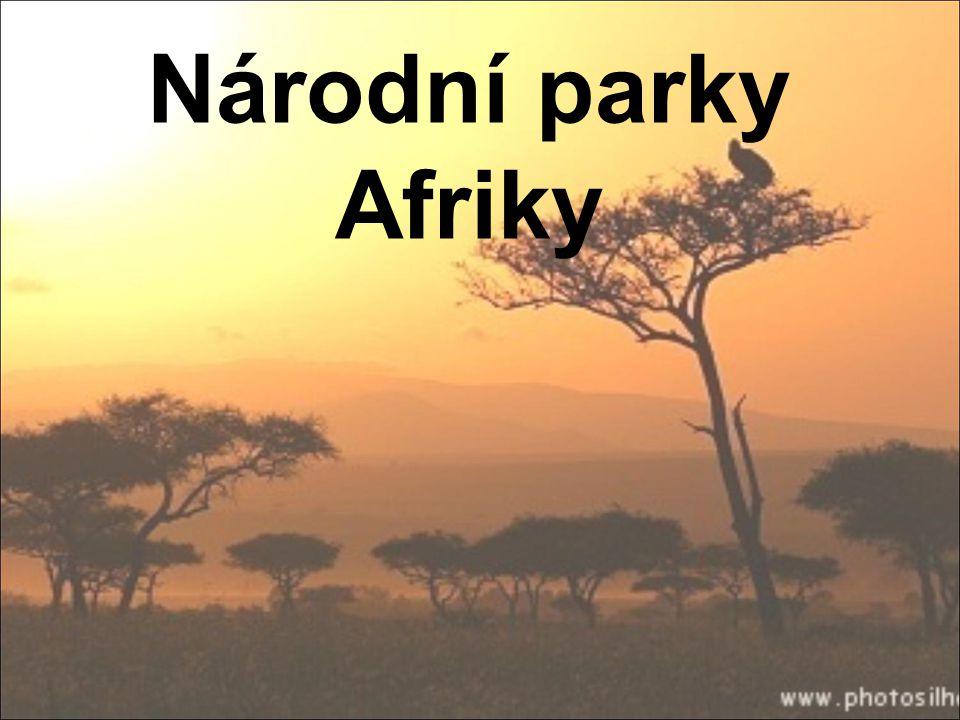 Národní parky Afriky