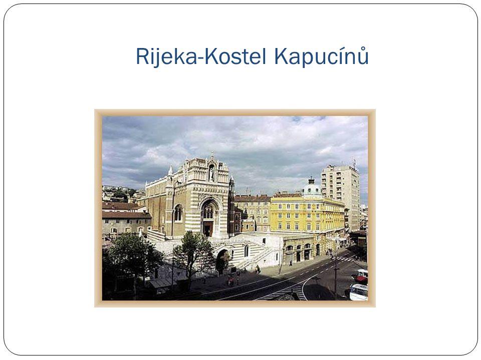 Rijeka-Kostel Kapucínů