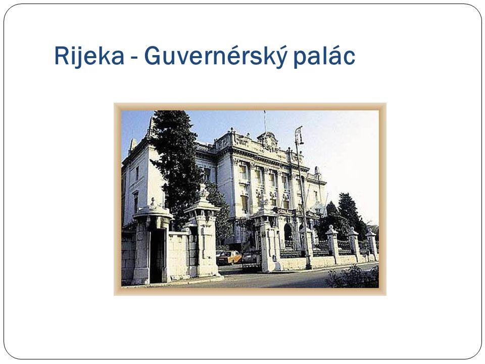 Rijeka - Guvernérský palác