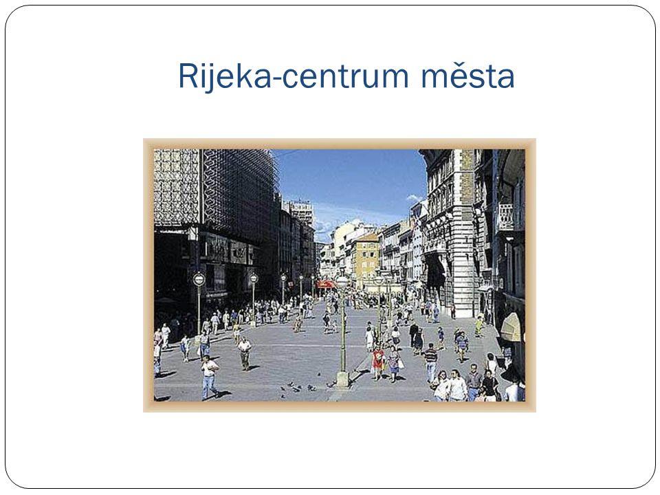 Rijeka-centrum města