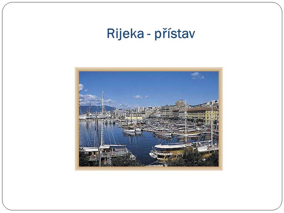 Rijeka - přístav