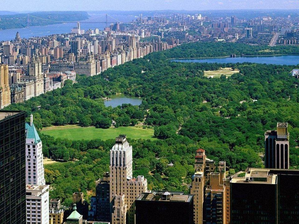 New York - Central Park Central Park je velký městský veřejný park o ploše 341 ha v New Yorku v městské čtvrti Manhattan City. Park má obdélníkový tva
