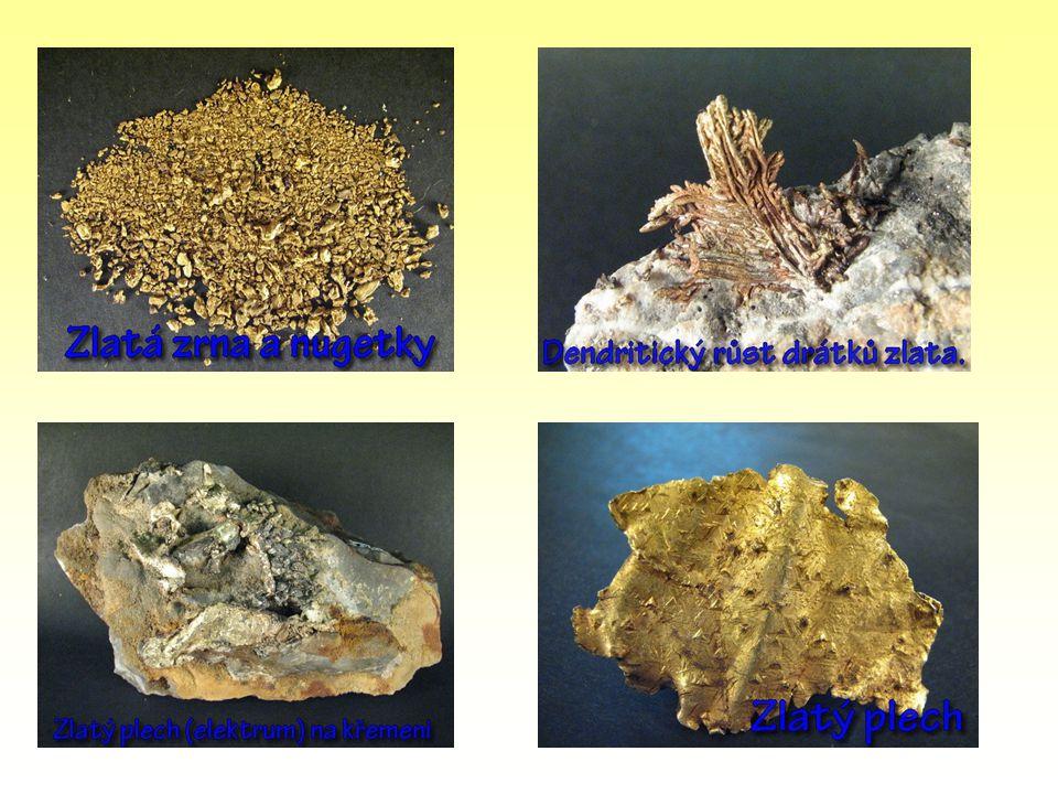 Nejběžnějšími sloučeninami jsou: AuCl3 - chlorid zlatitý Au2O3 - oxid zlatitý,vzniká rozpuštěním zlata v Lučavce královské.