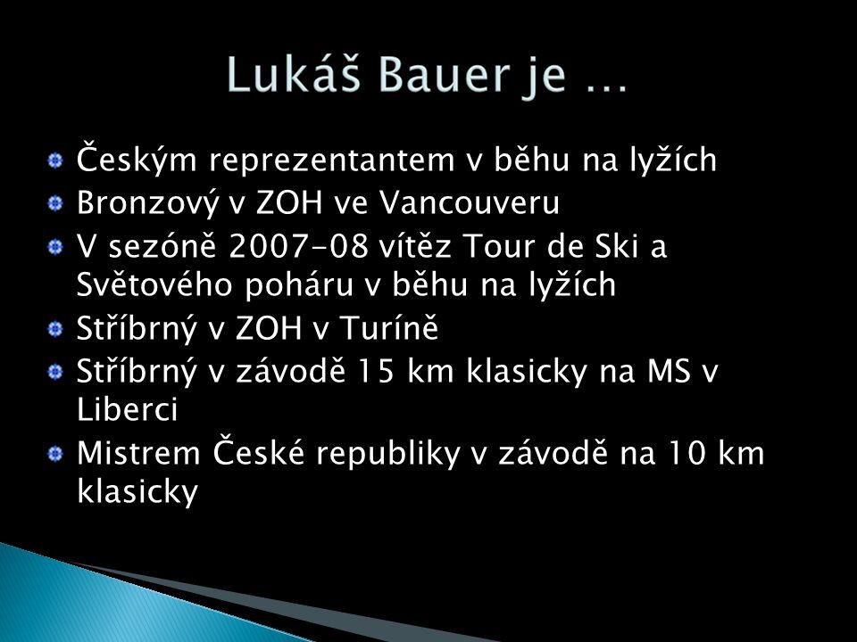 Českým reprezentantem v běhu na lyžích Bronzový v ZOH ve Vancouveru V sezóně 2007-08 vítěz Tour de Ski a Světového poháru v běhu na lyžích Stříbrný v ZOH v Turíně Stříbrný v závodě 15 km klasicky na MS v Liberci Mistrem České republiky v závodě na 10 km klasicky