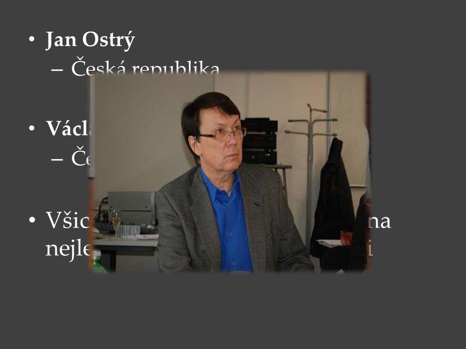 Jan Ostrý – Česká republika Václav Kunt – Česká republika Všichni tyto flétnisté studovali na nejlepší Konzervatoři ve Francii