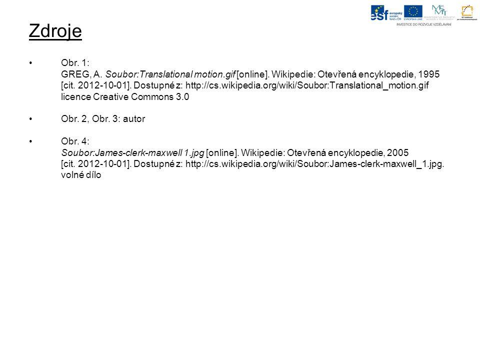 Zdroje Obr. 1: GREG, A. Soubor:Translational motion.gif [online].