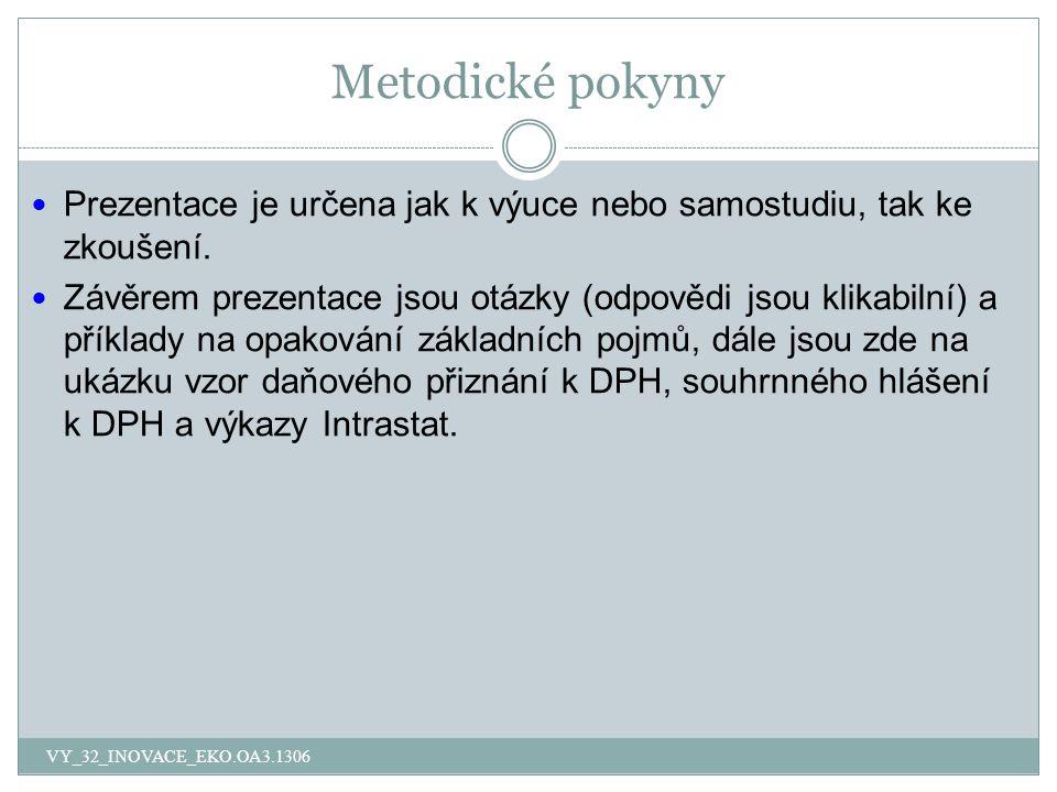 Příklad Suvitas, s.r.o.