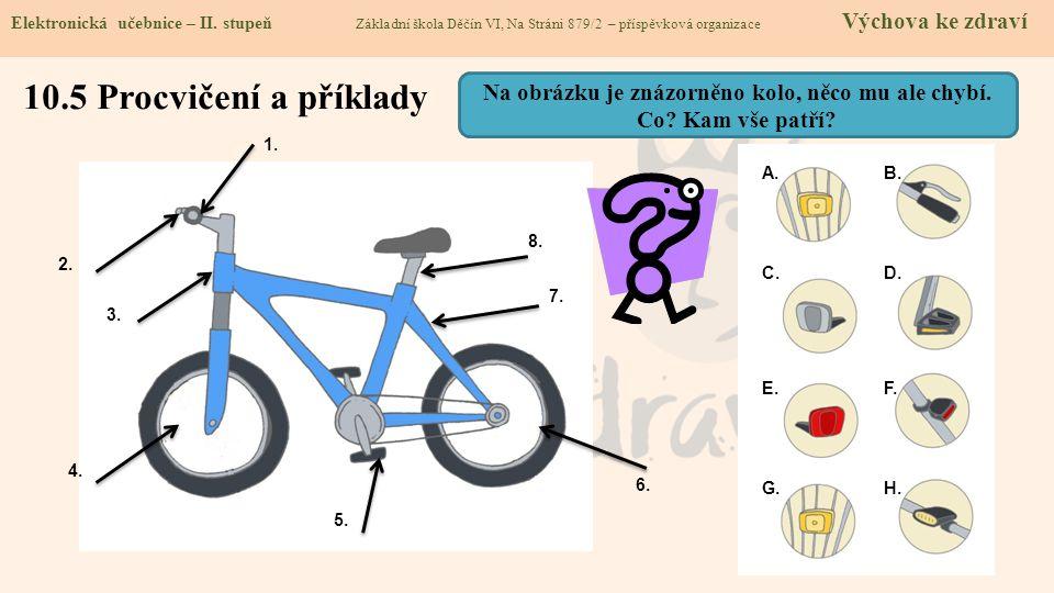 10.5 Procvičení a příklady Elektronická učebnice - II.