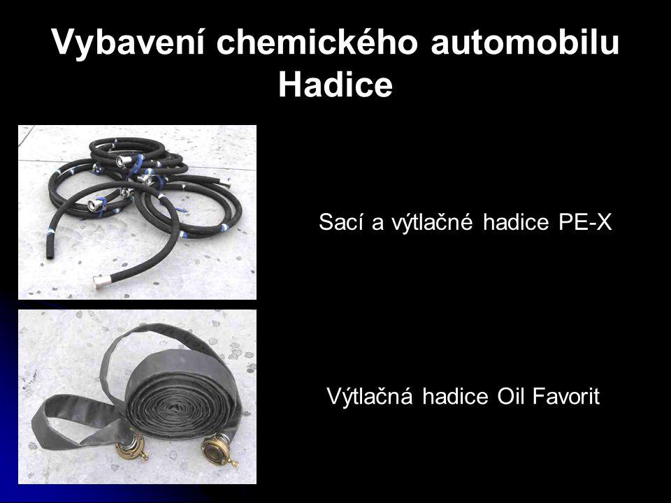 Vybavení chemického automobilu Hadice Sací a výtlačné hadice PE-X Výtlačná hadice Oil Favorit