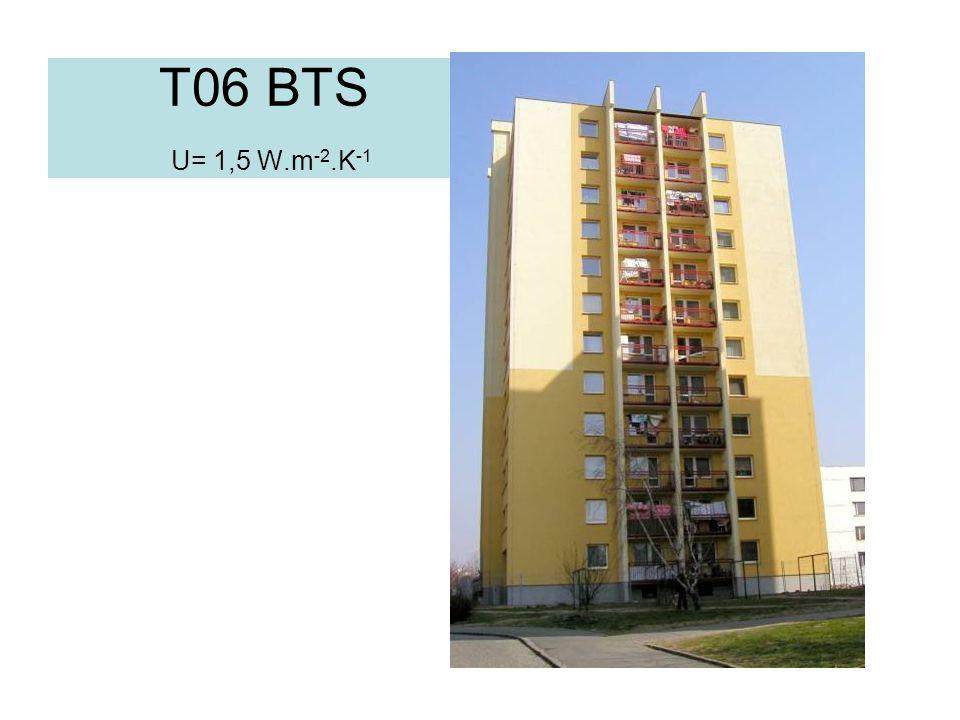 T06 BTS U= 1,5 W.m -2.K -1