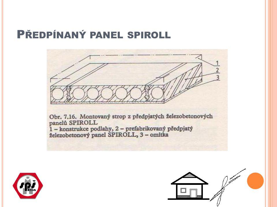 K ERAMICKÉ PANELY Nepřesný termín, nosnou funkci zde plní rovněž železobeton Funkcí keramických vložek je panel odlehčit a současně vytvořit stejnorodý keramický podhled Jsou vyráběny na stejném principu jako dříve žb.