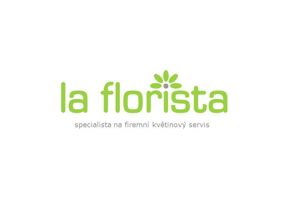 specialista na firemní květinový servis