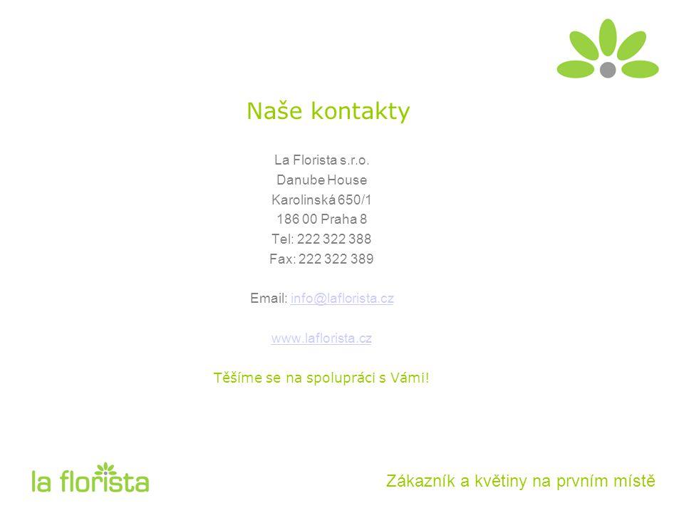 Naše kontakty La Florista s.r.o.