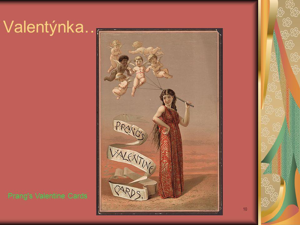 Valentýnka…………… Prang's Valentine Cards 10