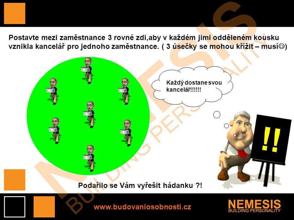 www.budovaniosobnosti.cz Po kliknutí Vám zobrazíme řešení