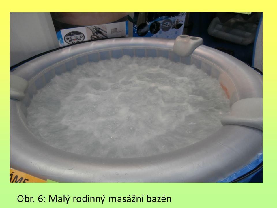 Obr. 6: Malý rodinný masážní bazén