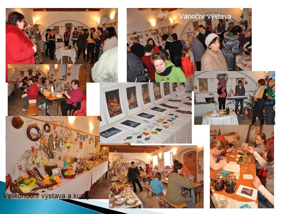 Vánoční výstava Velikonoční výstava a kurzy