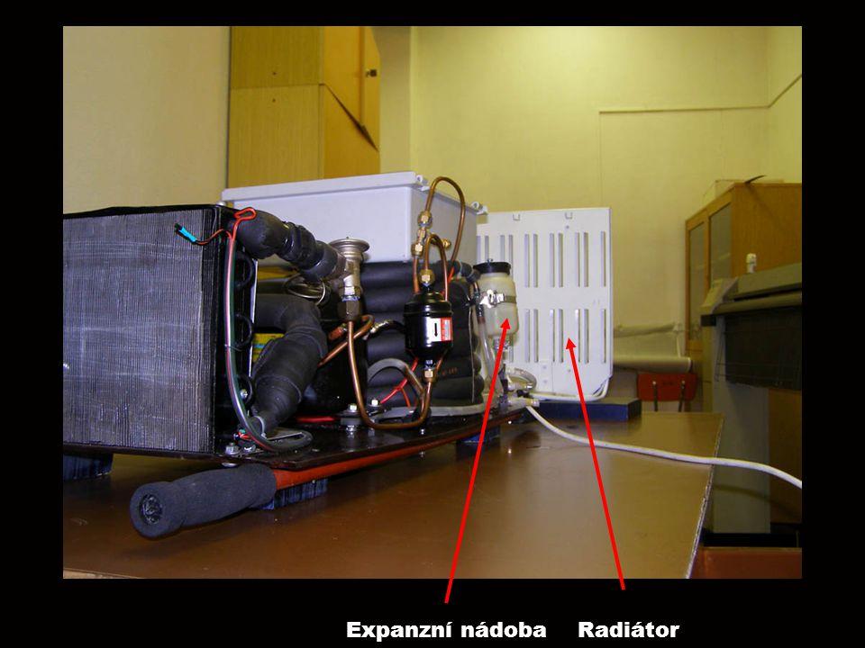 RadiátorExpanzní nádoba