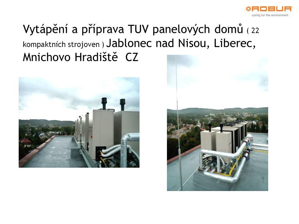 Vytápění a příprava TUV panelových domů ( 22 kompaktních strojoven ) Jablonec nad Nisou, Liberec, Mnichovo Hradiště CZ