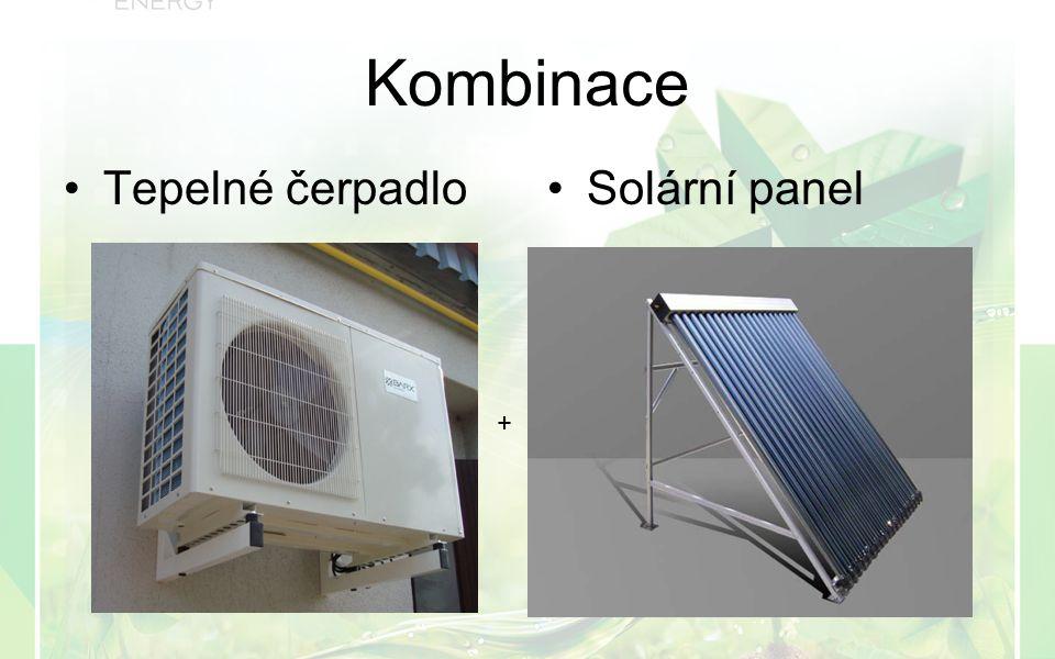 Kombinace Tepelné čerpadloSolární panel +