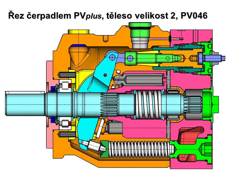 Řez čerpadlem PV plus, těleso velikost 2, PV046