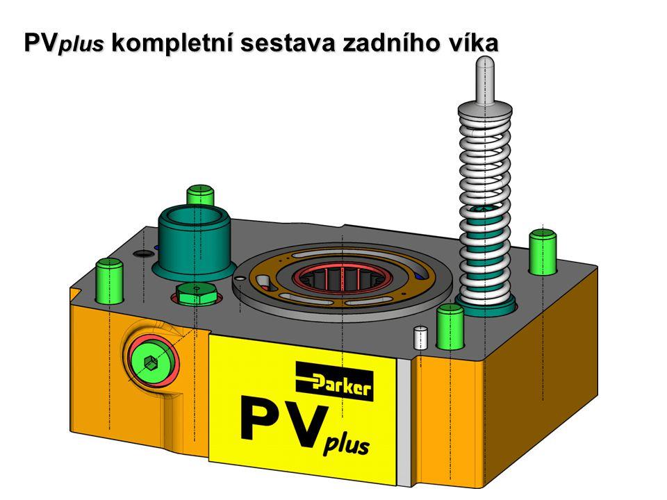 PV plus kompletní sestava zadního víka