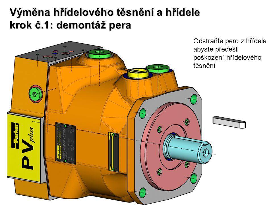 Zpětná vazba pro průtok je realizována prostřednictvím mechanického snímače polohy a křivkového pouzdra.