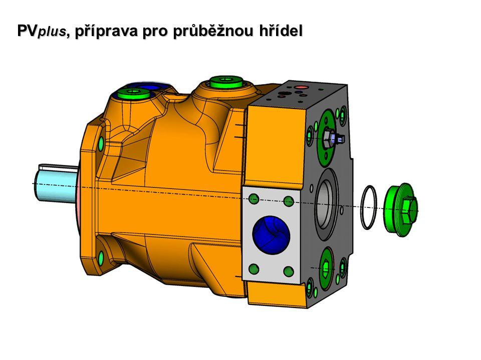 PV plus, příprava pro průběžnou hřídel
