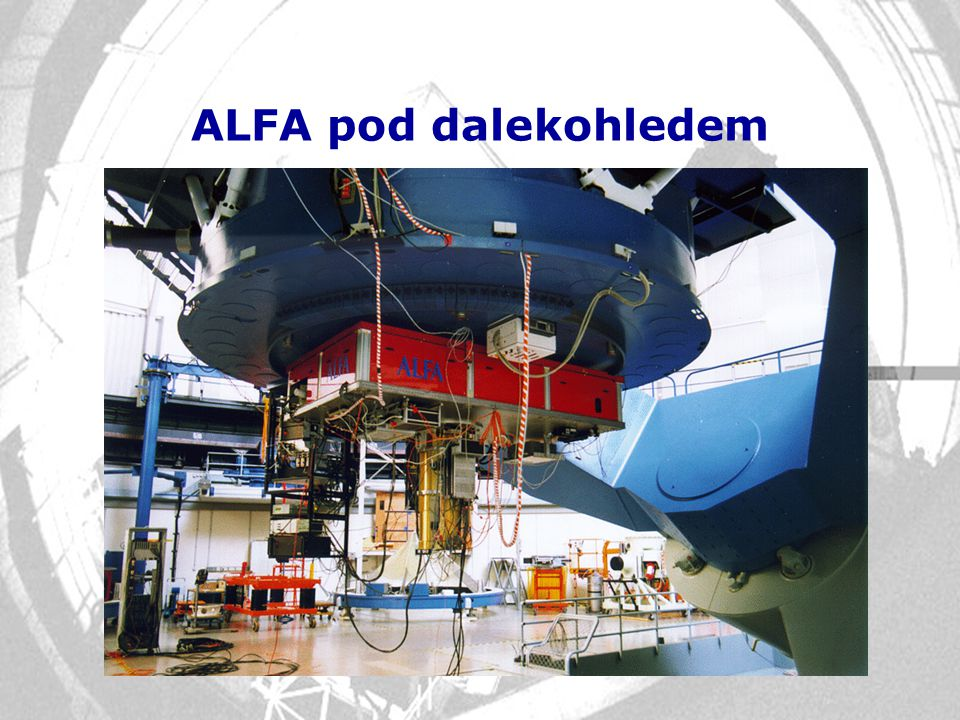 ALFA pod dalekohledem