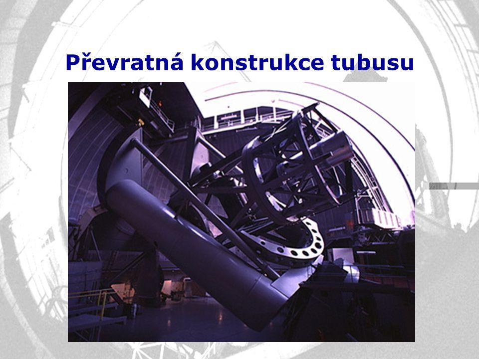 Převratná konstrukce tubusu
