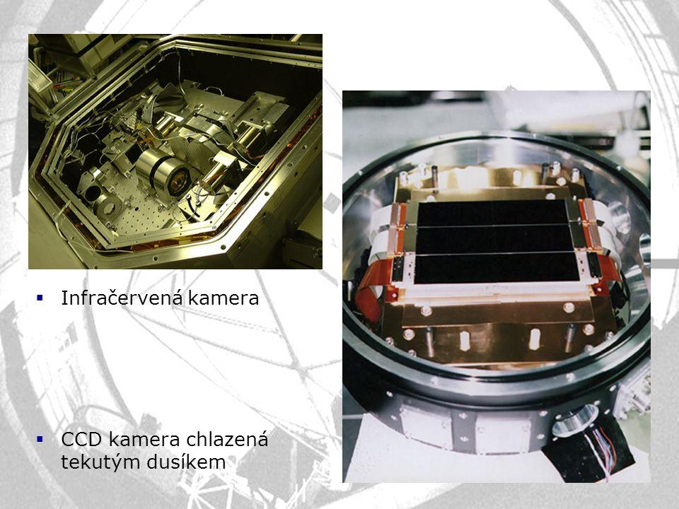  Infračervená kamera  CCD kamera chlazená tekutým dusíkem